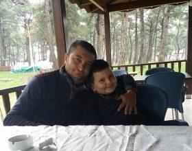 Serkan Şahin, kazada can verdi