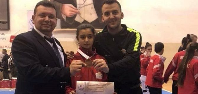 Bayramiç'in taekwondo başarısı
