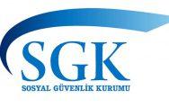 SGK'dan duyuru