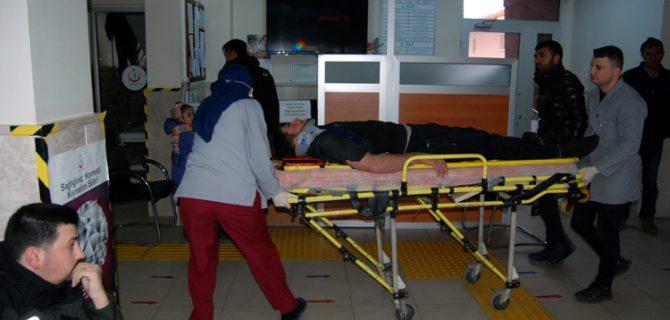 İnşaattan düşen işçi yaralandı