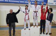 Ayazma taekwondocuların büyük başarısı