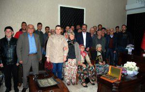 Ağaçköy'den Uygun'a hayırlı olsun ziyareti