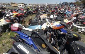 Motosikletler satışa çıkıyor