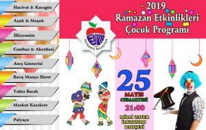 Belediyeden Ramazan etkinlikleri