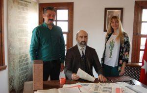 Gökçe, Mehmet Akif Evi'ni gezdi