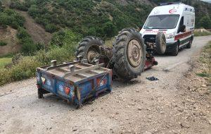 Traktörün altında kalıp öldü