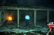 Türkmenli'de iki depo yandı
