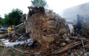Çalıdağı Köyü'nde ev yandı