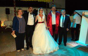 Gülçin ile Serdar evlendi