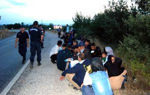 'Yunanistan'a geldik' deyip, bırakıp kaçtılar