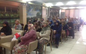Müftülükten hacı adaylarına seminer