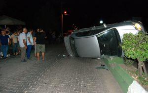 Menderes'te kaza; 1 yaralı