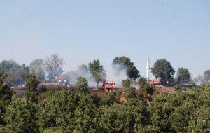 Zerdalilik Köyü'nde yangın