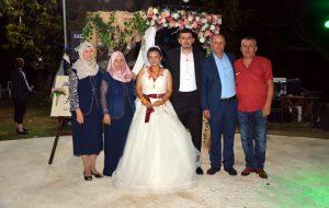 Fatma Nur ile Ramazan evlendi