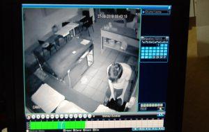 Hırsızlık anları kamerada