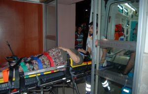 Otomobil traktöre çarptı; 1 yaralı