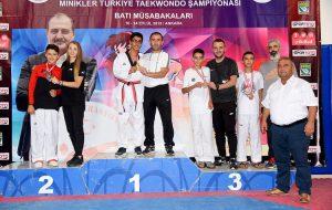 Bayramiçli taekwondocu, Türkiye üçüncüsü oldu