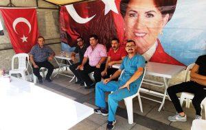 İYİ Parti'den üyelik standı