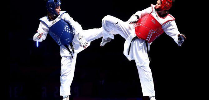 Bayramiç'te taekwondo şampiyonası
