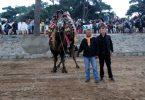 Bayramiç'te develere havut töreni