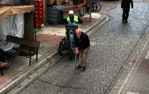 Sokaklar artık daha temiz