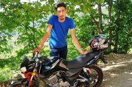 Motosiklet kazasında can verdi
