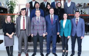 Baro başkanları stajyerlerle buluştu