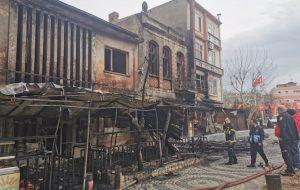 Çanakkale'de feci yangın