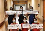 """Hastane çalışanlarından """"Evdekal"""" çağrısı"""