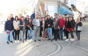 CHP'liler, 8 Mart'ı kutladı