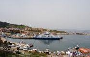 Bozcaada feribot seferleri haftada 2 güne düşürüldü