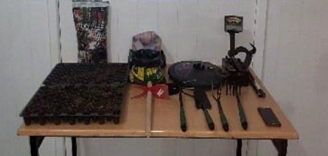 Bayramiç'te uyuşturucu operasyonları