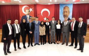 CHP'li gençlerden Başkan Uygun'a destek