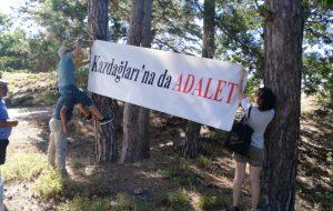 """""""Çevre Günü'nde Kazdağları için adalet"""""""