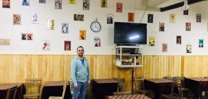 Bayramiç'te nostalji kahvehanesi