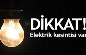 Tüm Bayramiç'te 4 saat elektrik kesintisi
