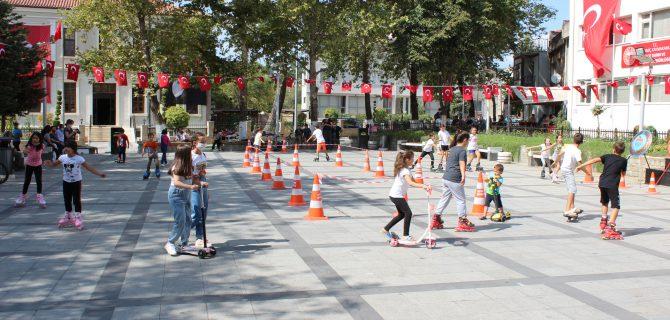 Hareketlilik Haftası'na renkli kutlama