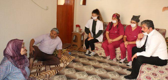 Yaşlılara anlamlı ziyaret