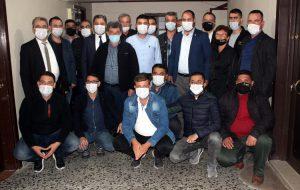 CHP'den MHP'ye hayırlı olsun ziyareti