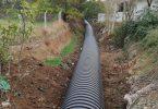 Bayramiç Belediyesi yağmur baskınlarına çözüm buluyor