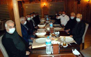 CHP'li eski başkanlar buluştu