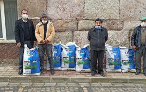 Üreticilere yemlik bitki tohumu desteği