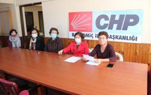 """CHP'li kadınlardan """"2020 cinsiyet eşitliği"""" karnesi"""
