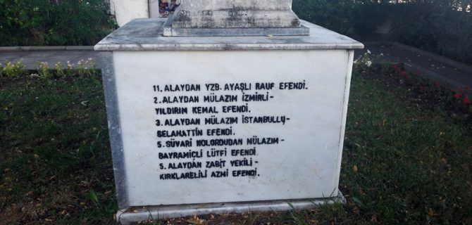 Büyük Taarruz'un Bayramiçli şehidi