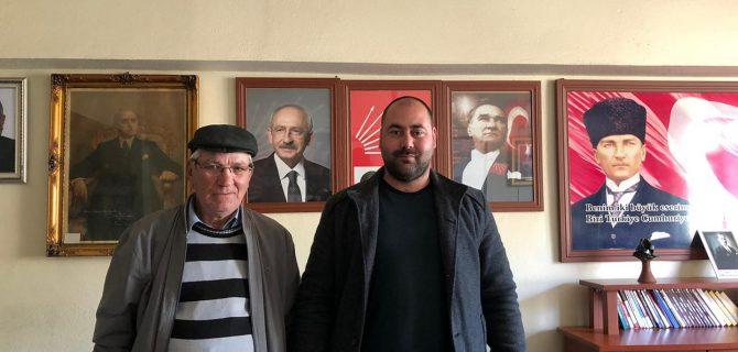Muhtar Gümüş, CHP'ye üye oldu
