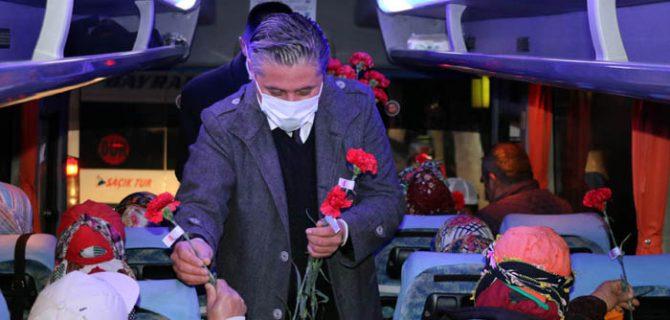 Başkan Uygun, Kadınlar Günü'nü kutladı