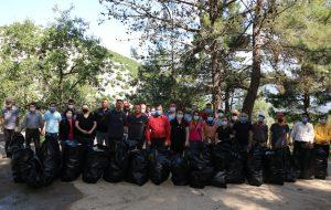 Bayramiç Belediyesi, Çevre Günü'nde temizlik yaptı