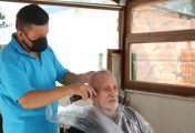 Belediye, evde ücretsiz berber hizmetine başladı