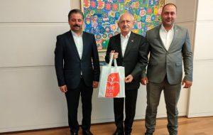 Bayramiçli başkanlar, Kılıçdaroğlu ile görüştü