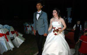 Figen ile Şerafettin evlendi